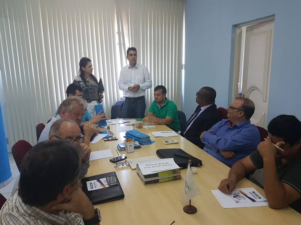 Reunião com diretores da FCDL/RJ e presidentes de CDLs do Estado do Rio de Janeiro