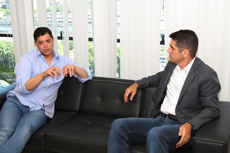 Reunião com o secretário municipal de Urbanismo, Infraestrutura e Habitação do Rio de Janeiro,Indio da Costa