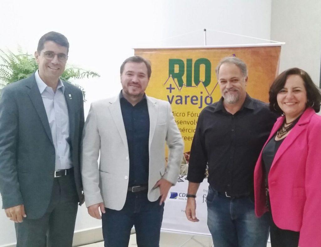 Volta Redonda sedia encontro do Rio + Varejo e debate economia do município