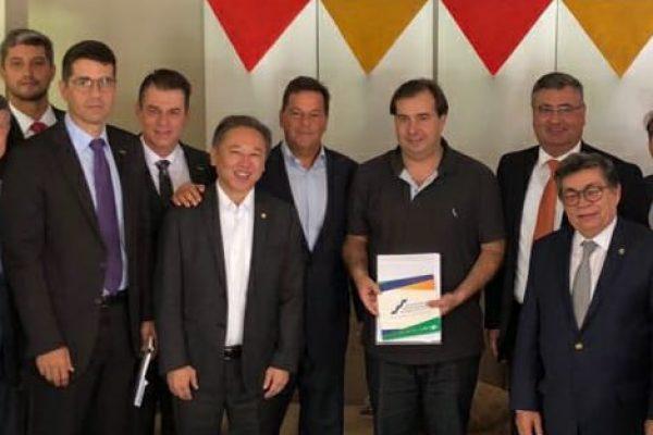 Cadastro Positivo: FCDL/RJ participa de reunião com presidente da Câmara dos Deputados