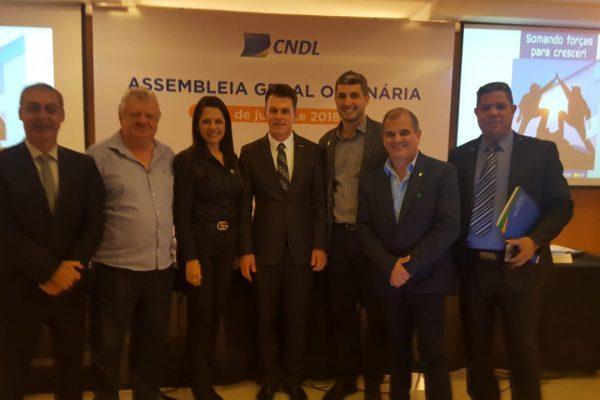 Representantes da FCDL/RJ participam da Assembleia Geral da CNDL em Brasília