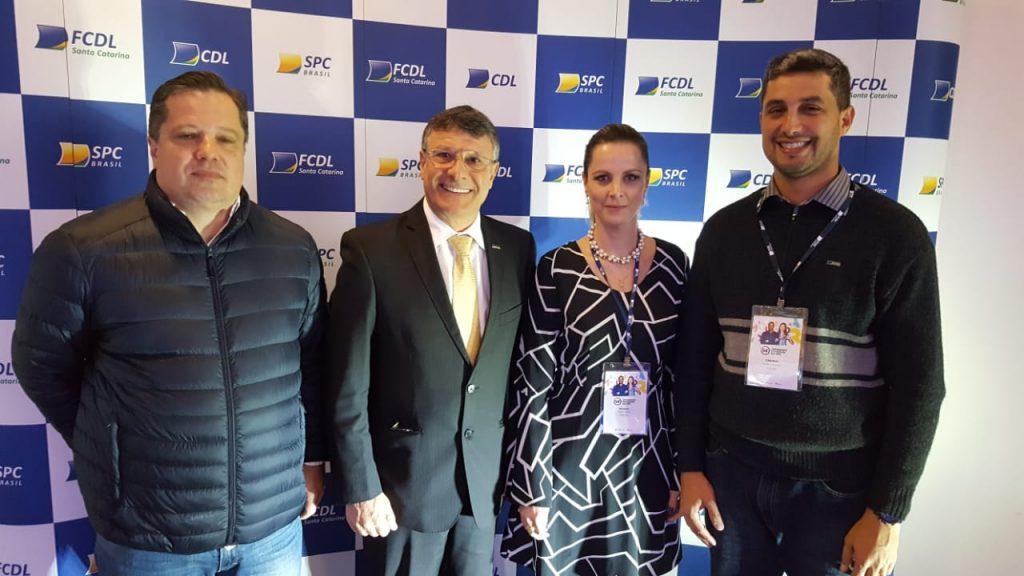 Presidente da FCDL/RJ visita FCDL de Santa Catarina e CDL Palhoça